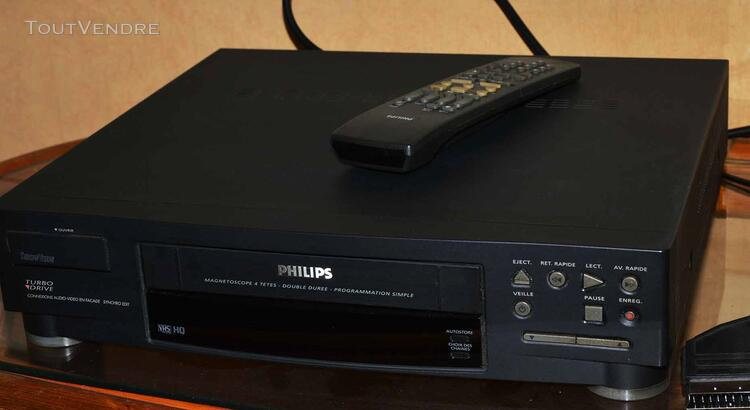Magnétoscope Philips VHS 125709061