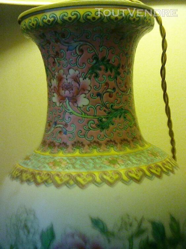 Magnifique lampe en porcelaine 257176574