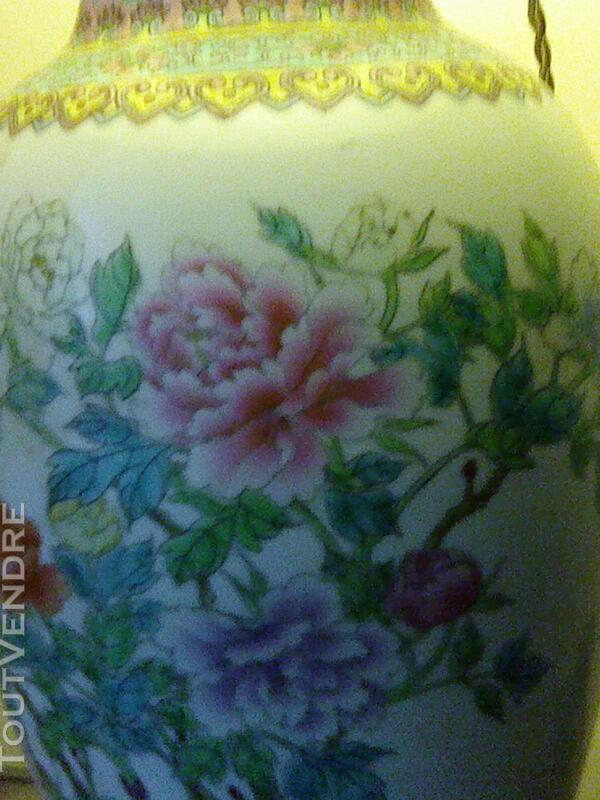 Magnifique lampe en porcelaine 257176706