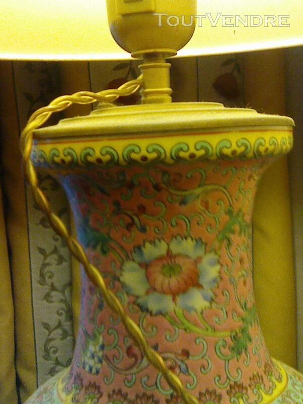 Magnifique lampe en porcelaine 257177279
