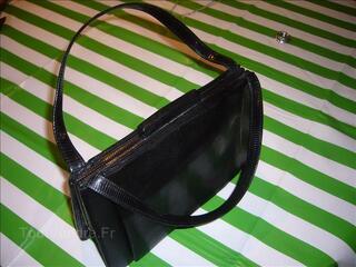 Magnifique sac à main retro en lézard qualité +++