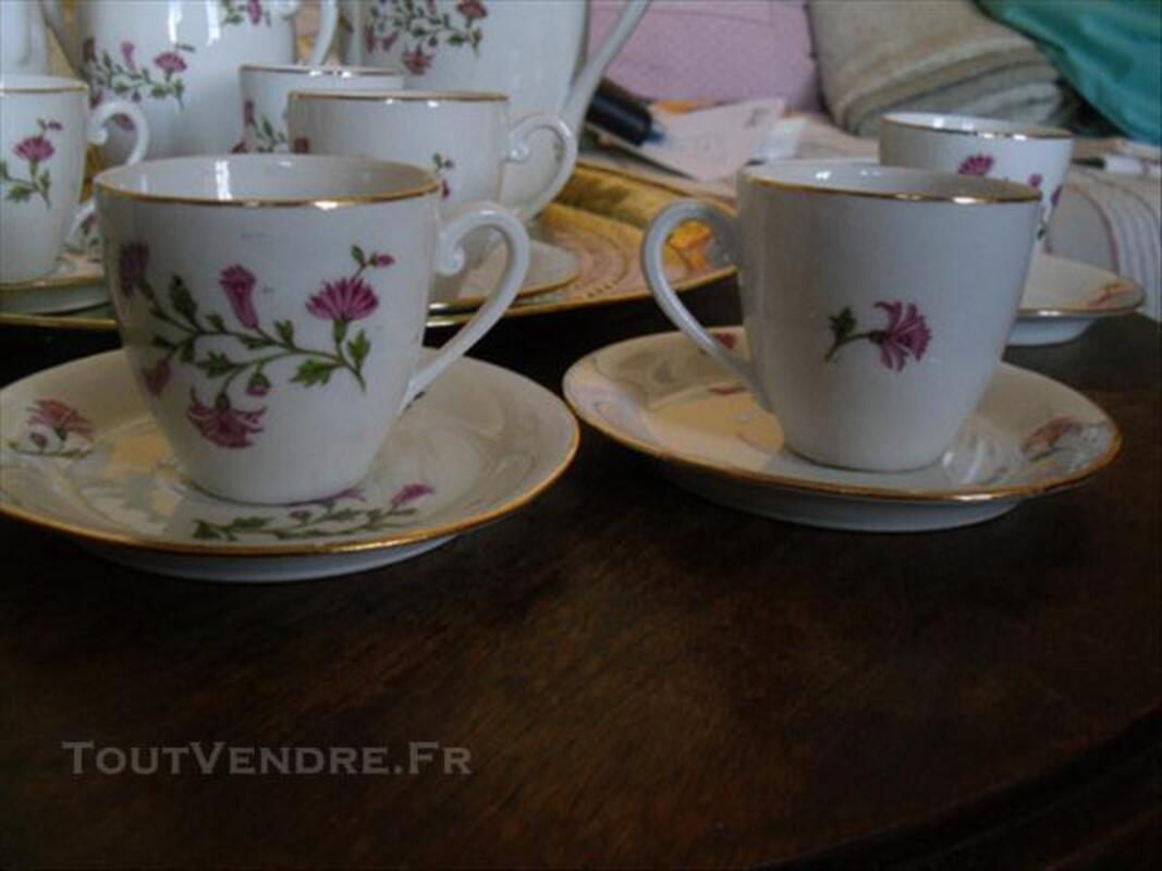 Magnifique service à café Années 20 Porcelaine Limoge 74016908