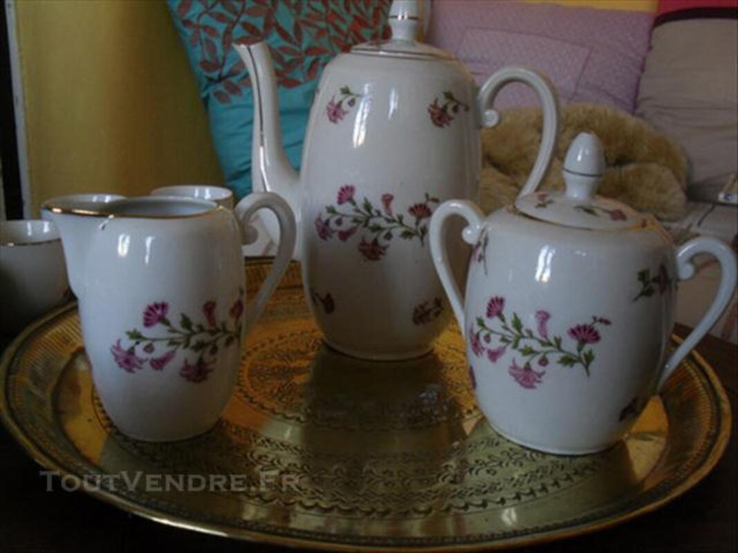 Magnifique service à café Années 20 Porcelaine Limoge 74016909