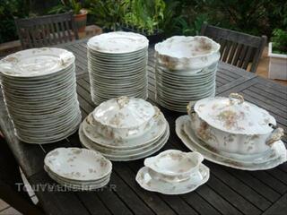 Magnifique service porcelaine Limoges Haviland Frank