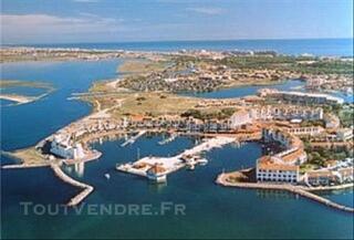 Maison à la mer Port-Barcares 5 Pers de 250 à 850 €/ Sem