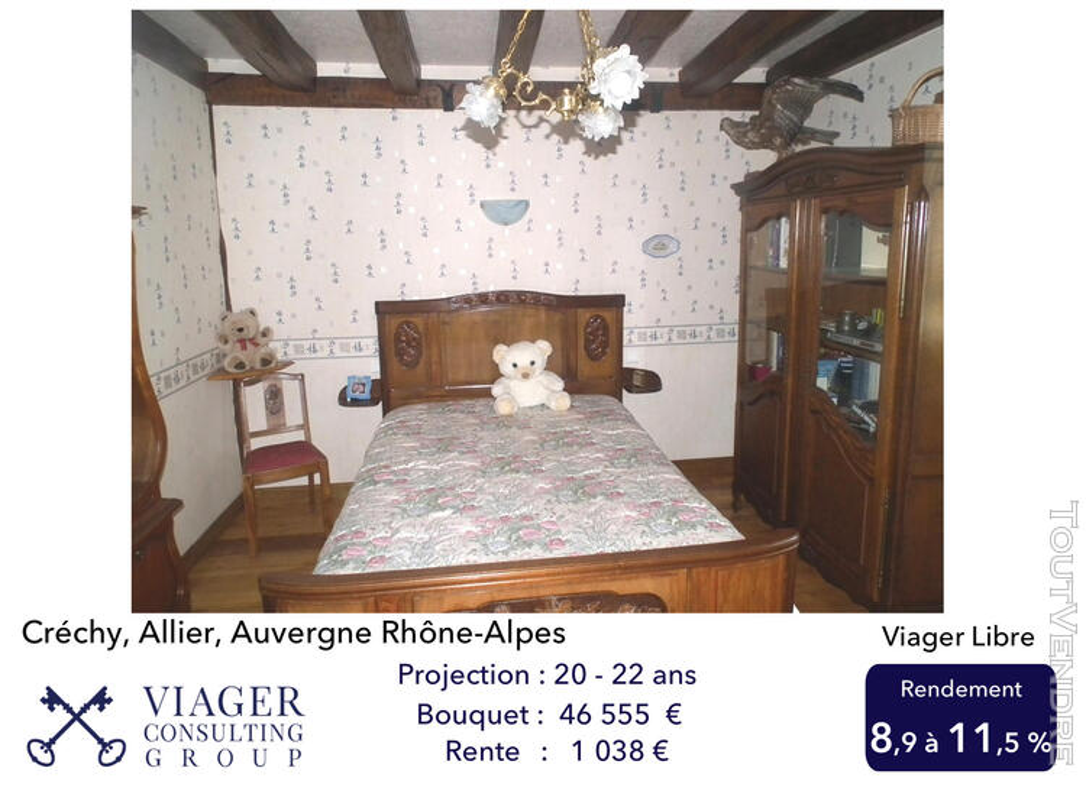 Maison Bourbonnaise alliant Charme et Confort proche - VICHY 211430903