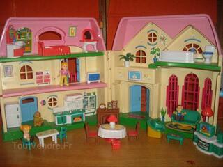 Maison de jeu transportable petite fille