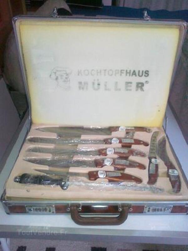 Malette de couteaux KOCHTOPFHAUS MULLER Neuf 93176397
