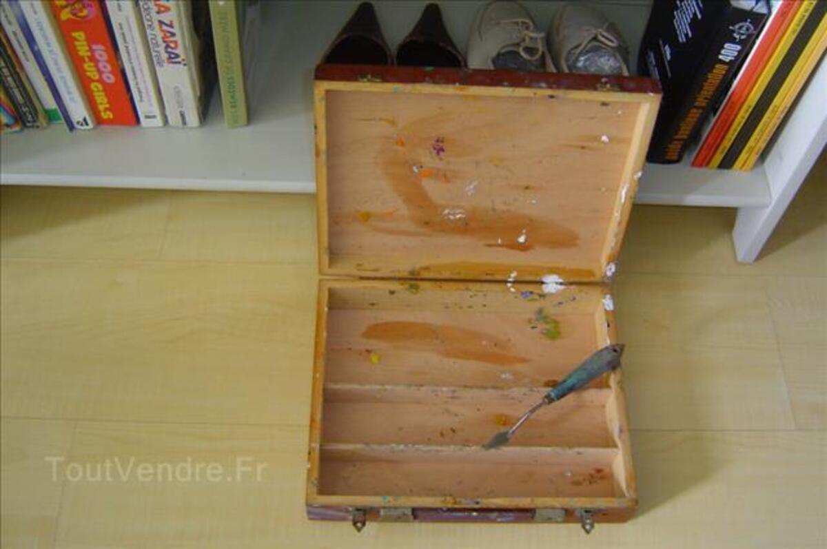 Malette  de peinture en bois 89266217