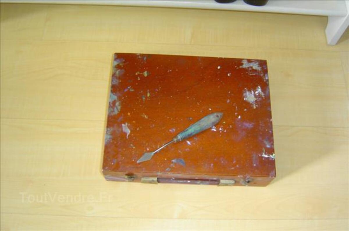 Malette  de peinture en bois 89266218