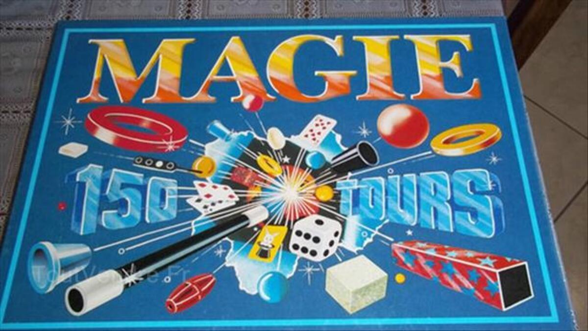 "Malette ""MAGIE"" 150 tours 87922475"