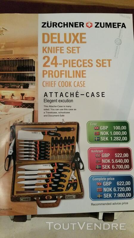 Malette neuve  couteaux  ZURCHNER ZUMEFA 190€ 143726273