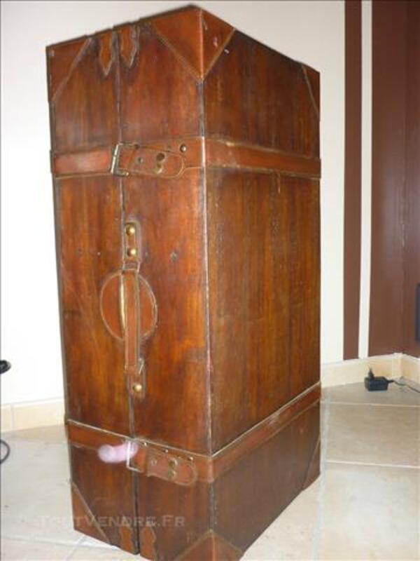 Malle - coffre en bois pour rangement URGENT déménageme 85396439