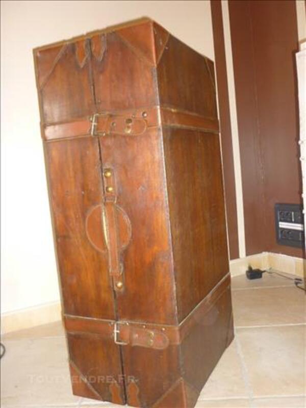 Malle - coffre en bois pour rangement URGENT déménageme 85396441