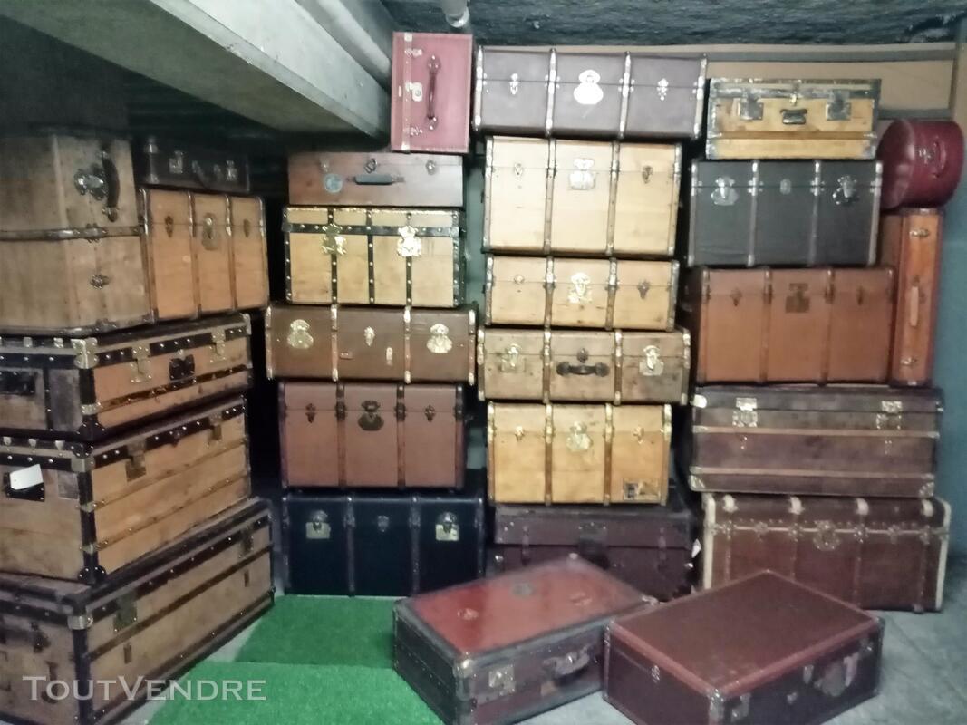 Malles coffres valises anciennes 661268917