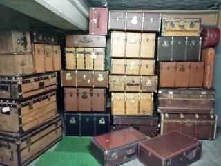 Malles coffres valises anciennes