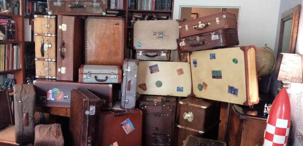 Malles coffres valises anciennes 661269058