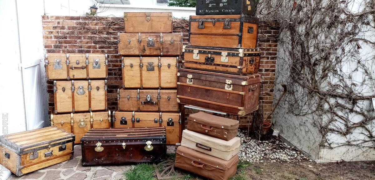 Malles coffres valises anciennes 661270330