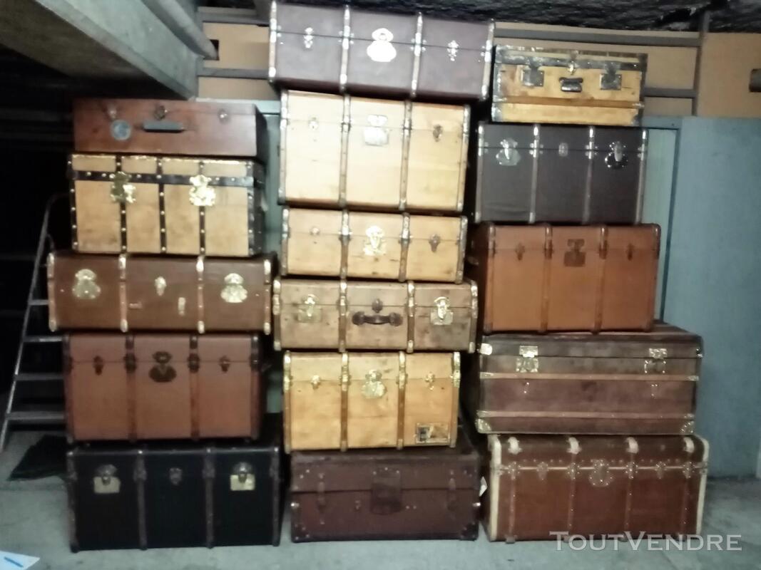 Malles coffres valises anciennes 661270957