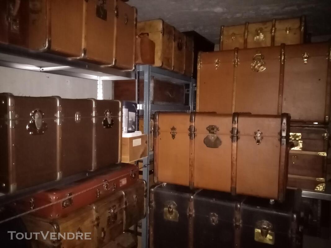 Malles coffres valises anciennes 661271074