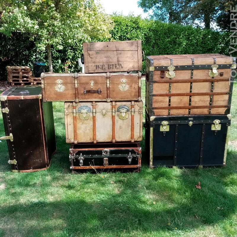 Malles coffres valises anciennes 702238519