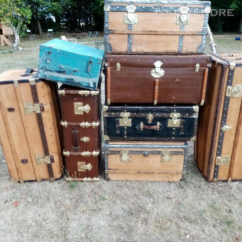 Malles coffres valises anciennes 702238696