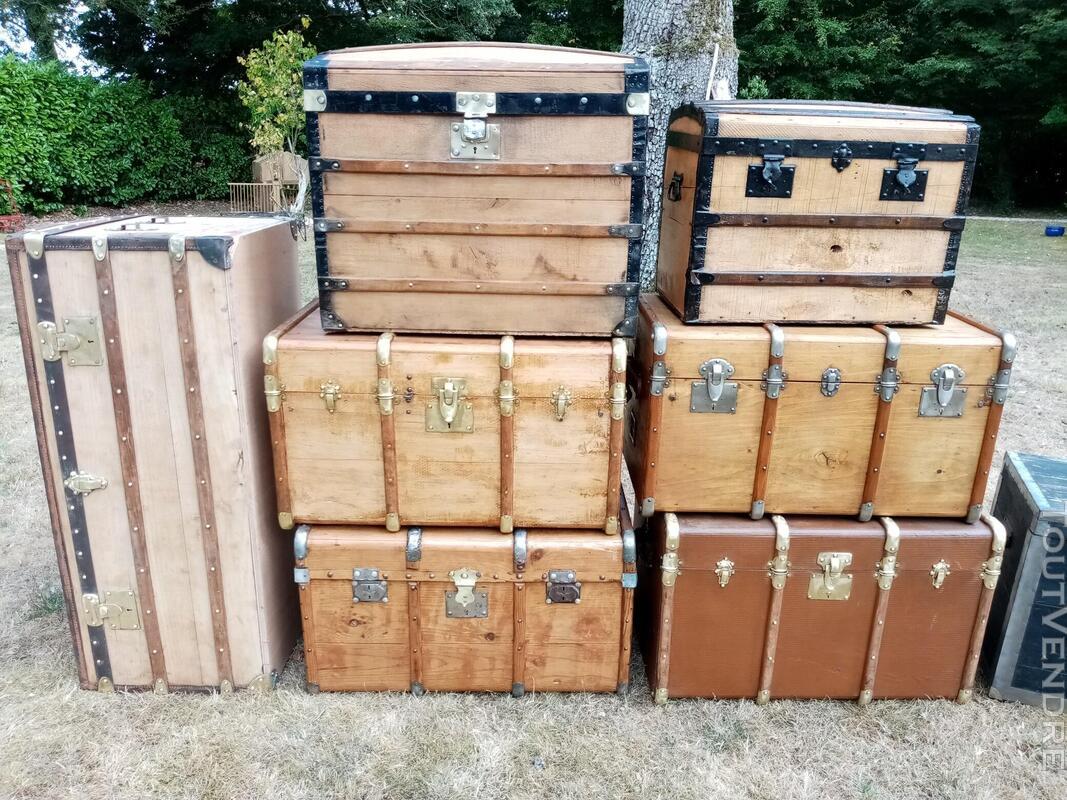 Malles coffres valises anciennes 702238741