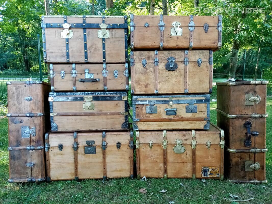Malles coffres valises anciennes 702238870