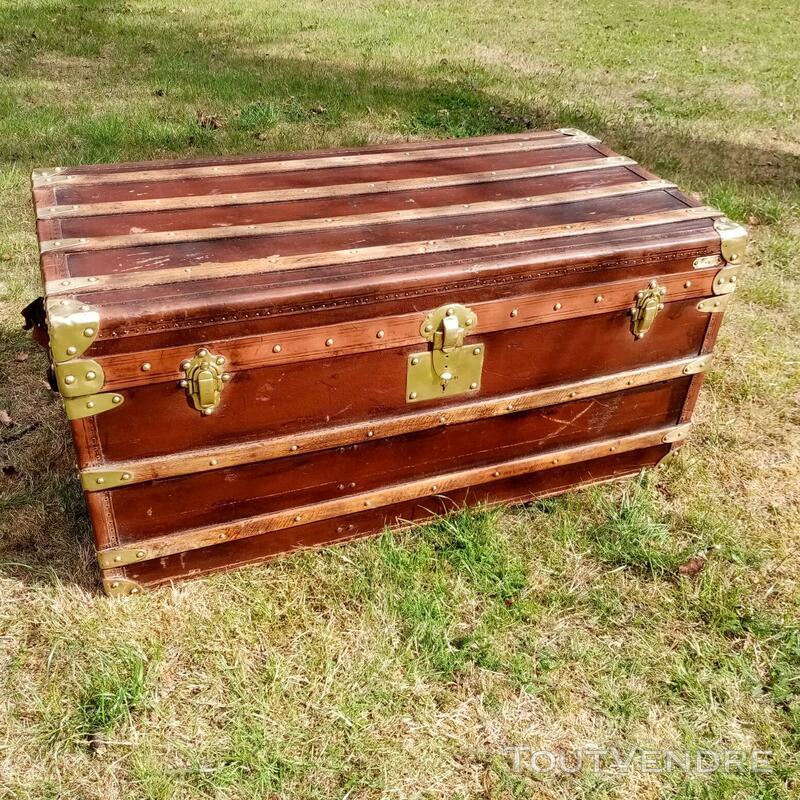 Malles coffres valises anciennes 702239125
