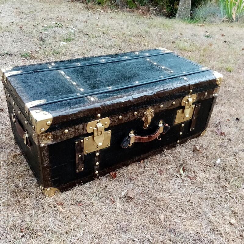 Malles coffres valises anciennes 702239389