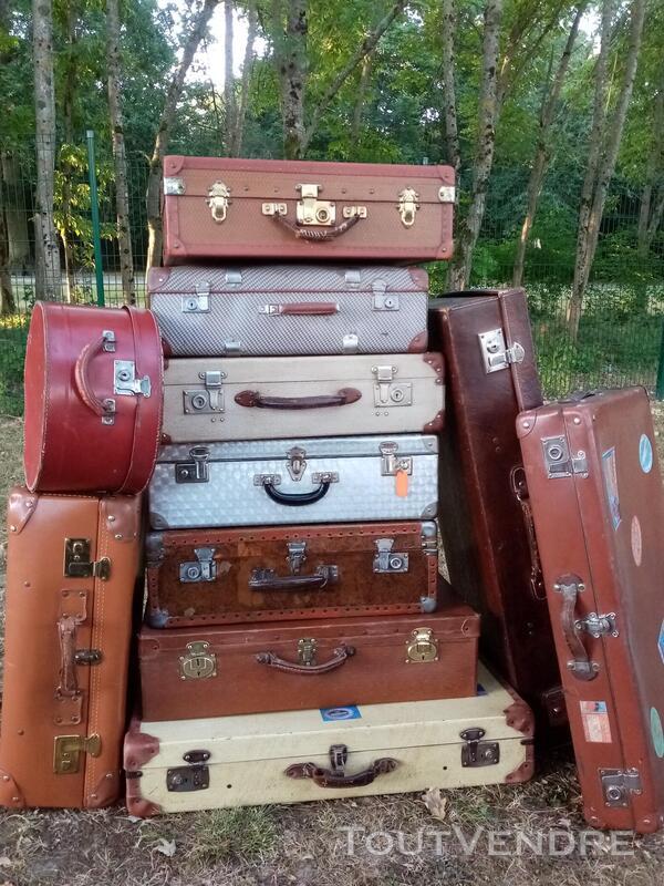 Malles coffres valises anciennes 702239704