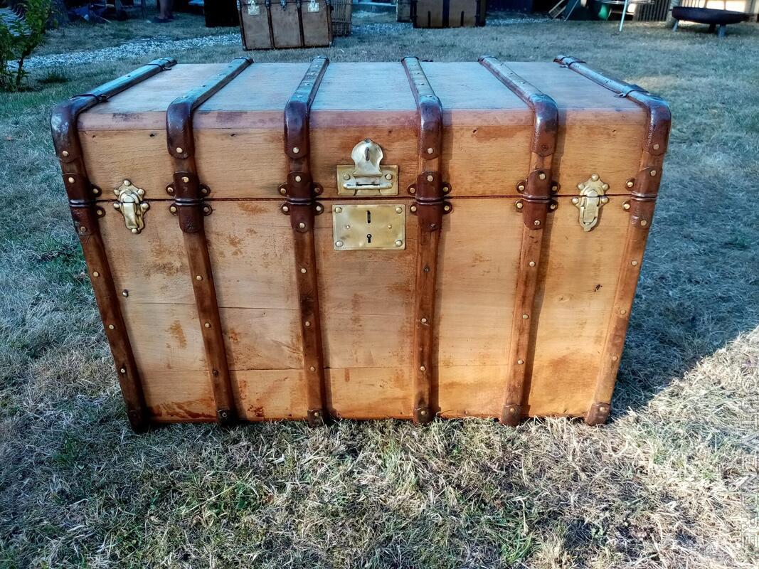 Malles coffres valises anciennes 702239827