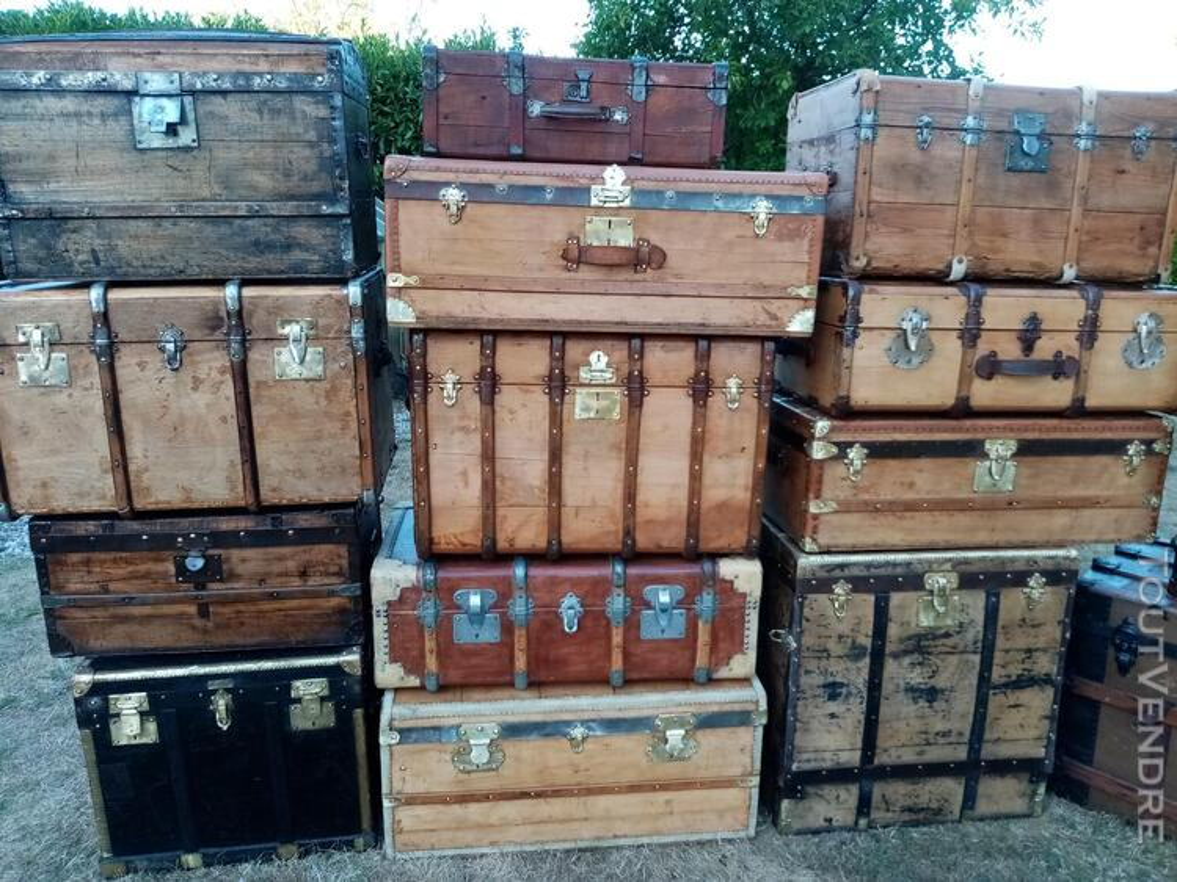 Malles coffres valises anciennes 702239911