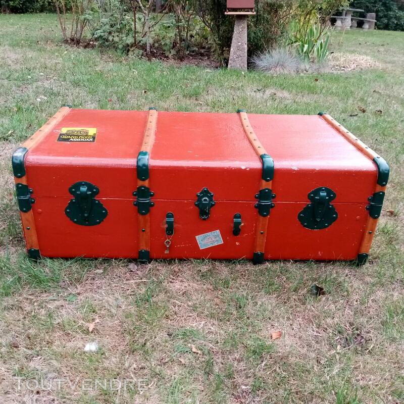 Malles coffres valises anciennes 702240724