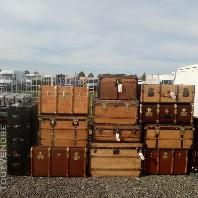 Malles valises et coffres anciens 714597156