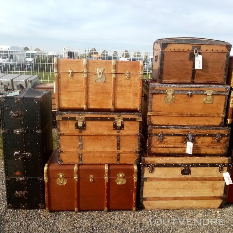 Malles valises et coffres anciens 714597474