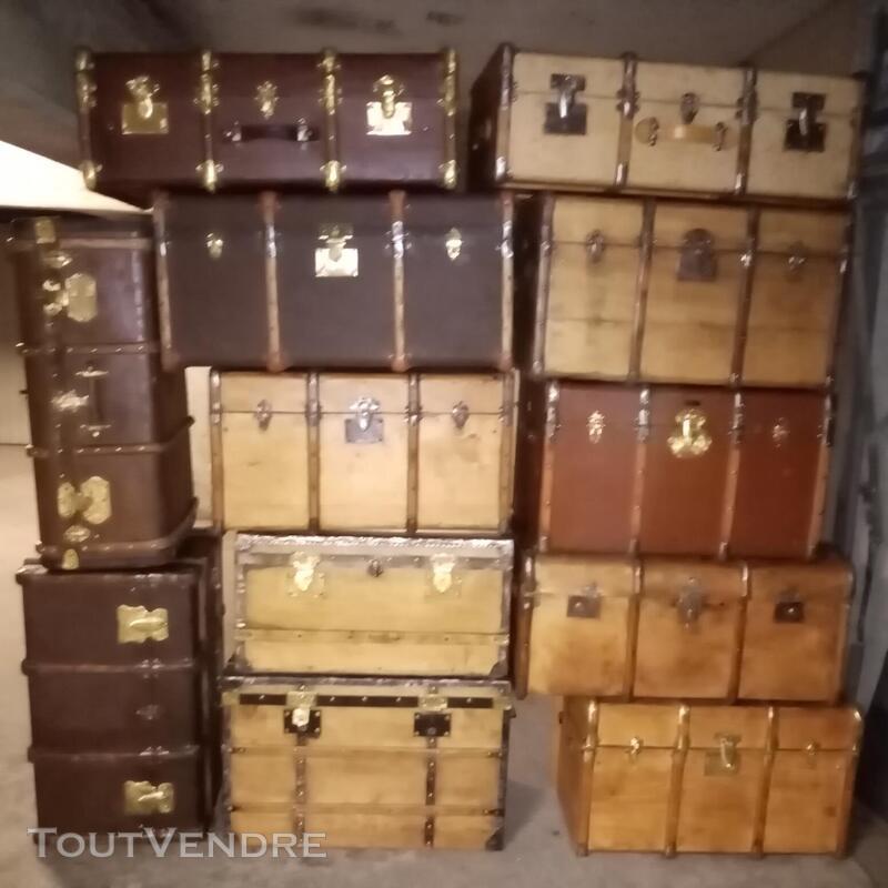 Malles valises et coffres anciens 714597750