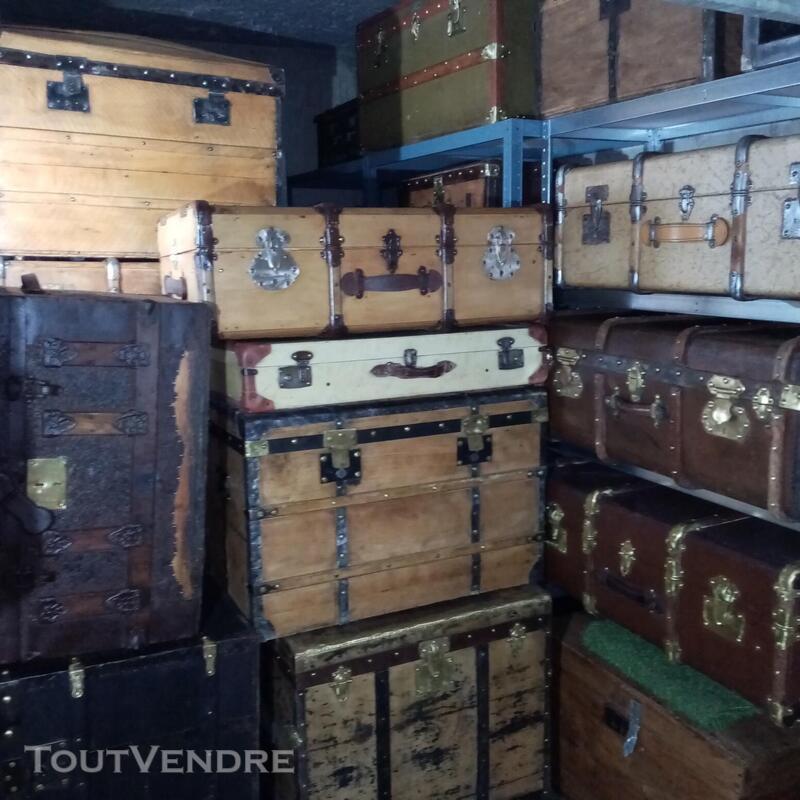 Malles valises et coffres anciens 714597837