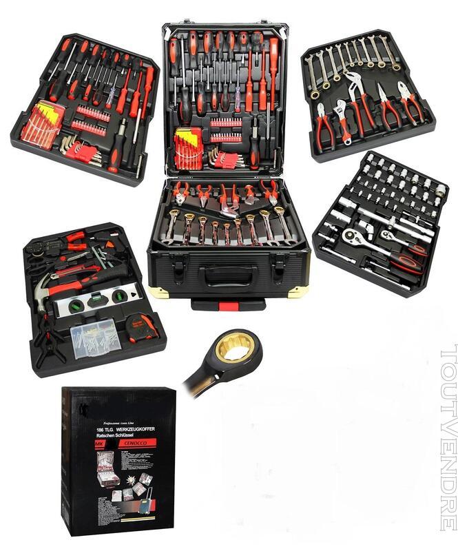 MaMalette, boitlette, boite a outils chrome vanadium 186 pcs 278296318