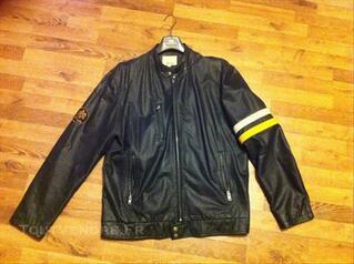 Manteau cuir de la marque Bluenotes , taille XL