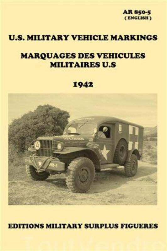 Manuel AR 850-5. Marquages des véhicules militaires U.S 1942 69134226