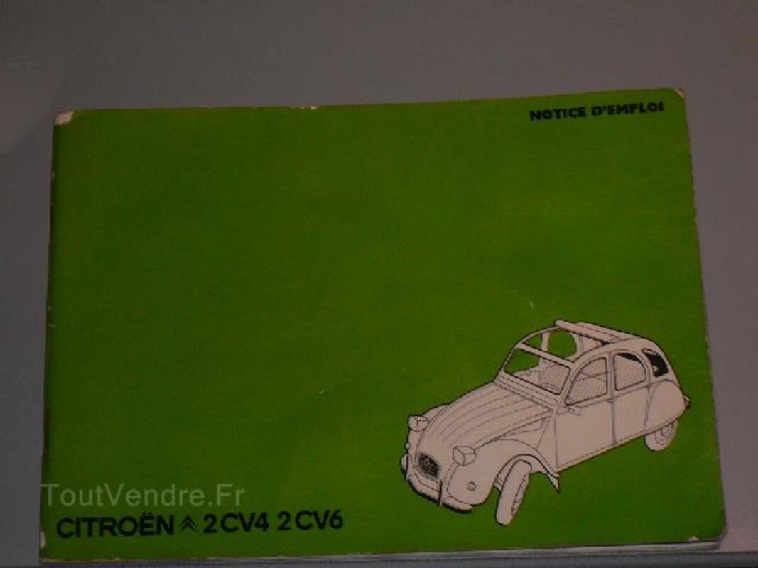 Manuel auto 2cv 4 et 6 de juillet 1975 102824726
