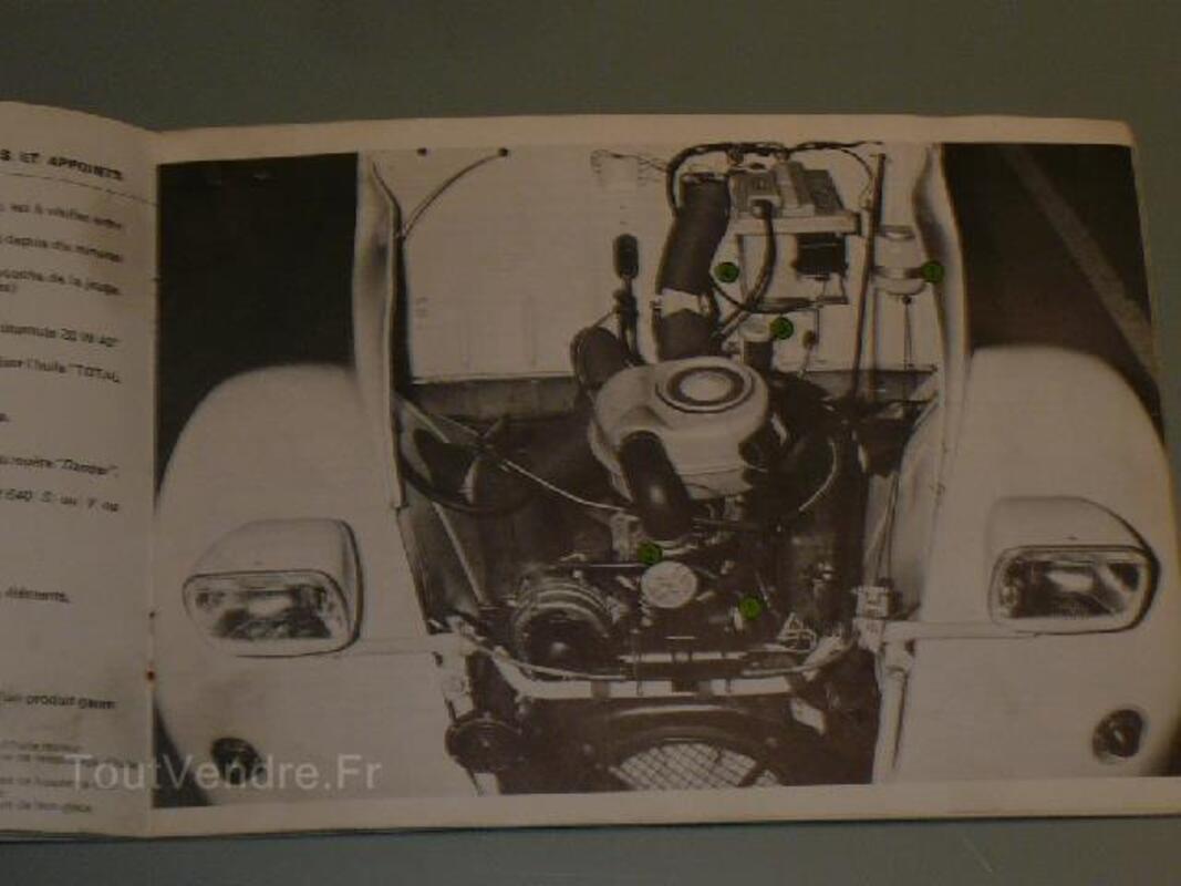 Manuel auto 2cv 4 et 6 de juillet 1975 102824728