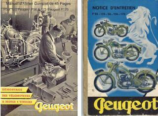 Manuel d'atelier 125 Peugeot - 150 Peugeot & 176 Peugeot