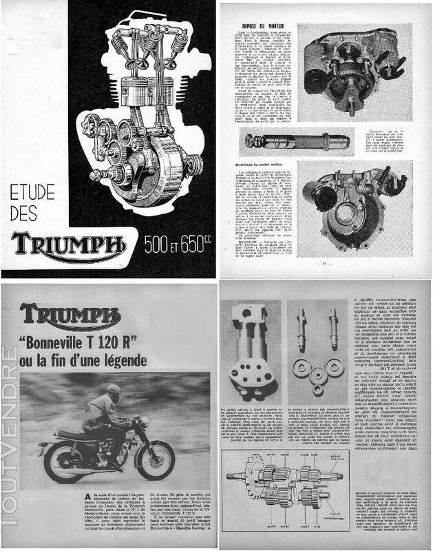 Manuel d'Atelier pour Moto Triumph en Français 720487478