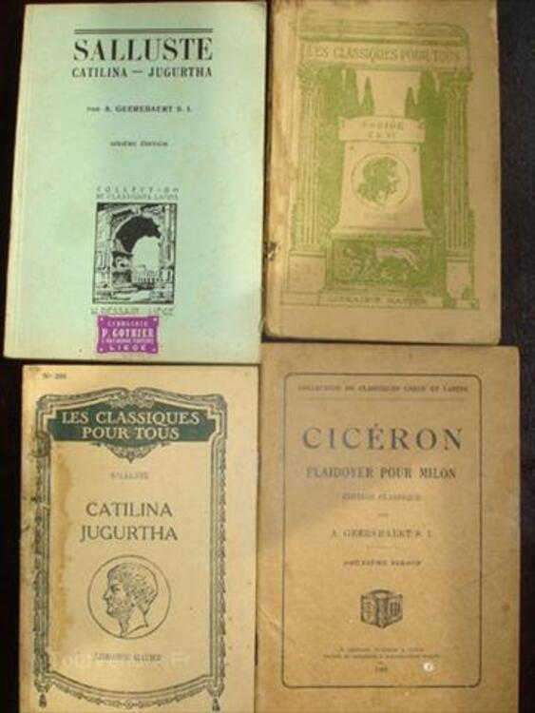 Manuel scolaire et lexique de Latin 66144715