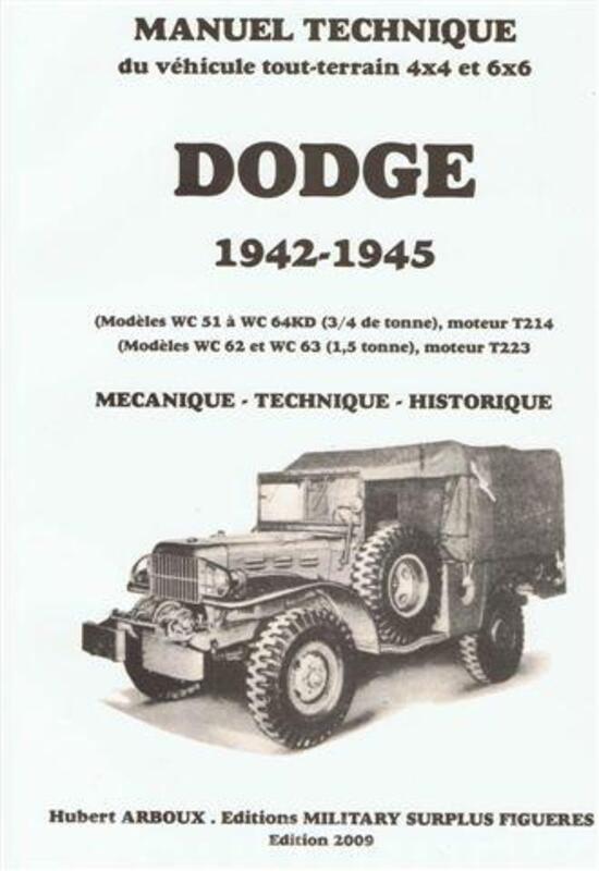 Manuel technique du Dodge 4x4 et 6x6, séries WC (1941 à 1945 69132719