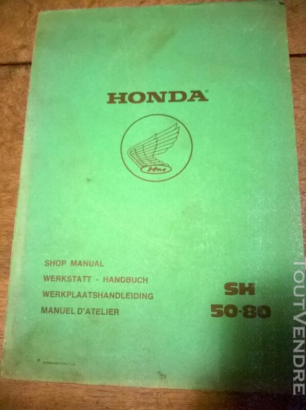 Manuels d'ateliers HONDA 118002085