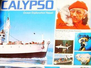 MAQUETTE CALYPSO REVELL 1/125 PACK COMPLET ORIGINEL1974