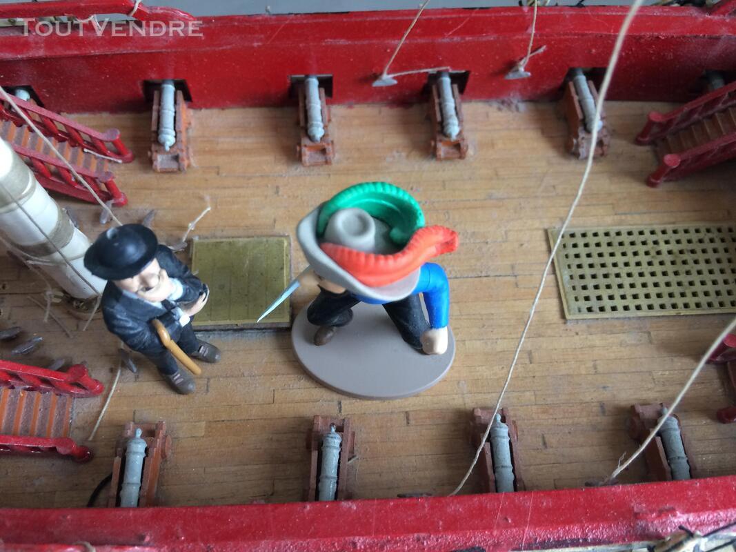 Maquette Tintin La Licorne 2011 285159923